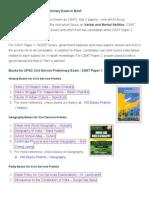 Books for UPSC Civil Service Preliminary Exam Preparation - Clear IAS