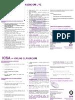 Icsa Ocr & Ocr Live Flyer
