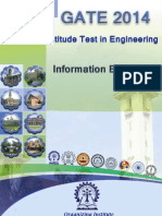 Gate 2014 Notification and How to Apply for Gate Exam