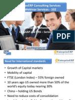 EnterprizeERP - Finance Transformation - IfRS Series US GAAP and IFRS - Series-2
