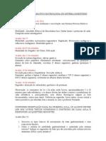 CONTEUDO PROGRAMÁTICO DE FISIOLOGIA