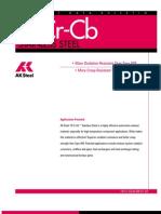18 Cr-Cb Data Bulletin