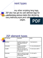 JSP Element Types