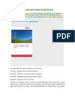 Llibro Sobre El Sector Energia Peruano