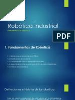 Robótica Industrial Fundamentos