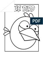 Buku Mewarnai Gambar Angry Birds 2