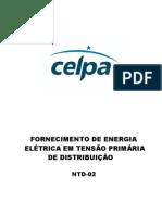 NTD 02 Revisao Fornecimento de Energia Eletrica Em Tensao Primaria de Distribuicao