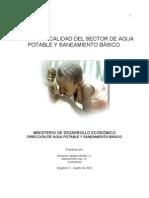 Sistema de Calidad Sectorial-MDE
