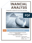 Financial Analysis (Comparative Analysis Of Coca-Cola And Pepsi)