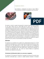 Análisis Microbiológico de órganos de camarón
