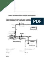 Desenhos de sistemas elevatórios
