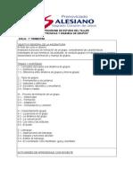 PROGRAMA Técnicas y Dinámica de grupos.