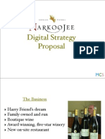 narkoojee digital strategy pitch