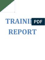 Training Report - Yuvraj
