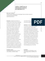 La Vocacion Critica de La Antropologia en Latinoamerica