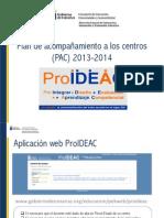 Plan de Acompañamiento 2 2013-2014