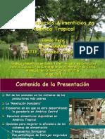 1.-Uso de Recursos Alimenticios en América Tropical