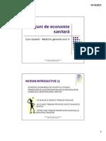 C08 - Economie sanitara