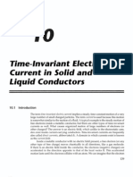 Chapter 10 - Time Invarient Currents in Conductors