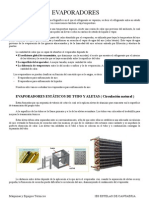 Apuntes de Maquinas (Evaporadores y Condensadores)