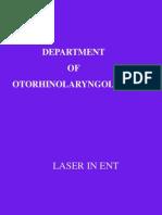 Laser in Ent