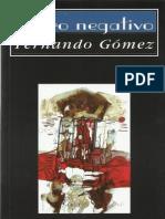 Cero negativo, de Fernando Gómez