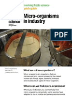 Tsqg Micro-Organisms Industry