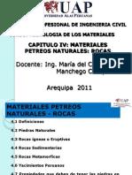 Materiales Petreos Rocas