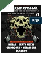 Extreme scream vol. 1