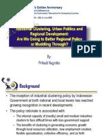 Industrial Clustering, Urban Politics and Regional Development_Prihadi Nugroho