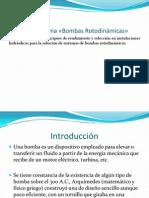 CALCULO DE BOMBAS ROTODINÁMICAS
