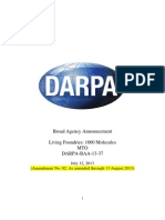 DARPA-BAA-13!37!1000 Molecules Final for Posting 13August2013