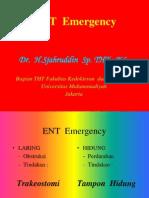 Emergency ENT