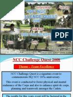 NCC Challenge Quest 2008