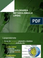 metabolismul lipidic
