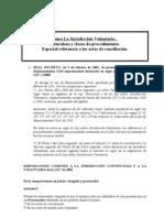 Tema Jurisdicción Voluntaria  (Revisado 27-4-2011)