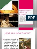 Romanticismo Literatura Exposición