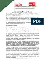 Chaves Declaracion
