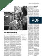 Der Antihumanist Niklas Luhmann