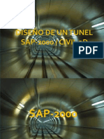DISEÑO TUNEL (SAP- CIVIL)