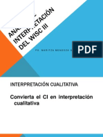 INTERPRETACION WAIS 3