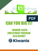 EAT South CYDI 2013 Report