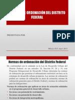 Exposicion Normas Ordenacion y Pdudf