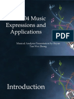 GEN1004 Music Expressions and Applications - Presentation