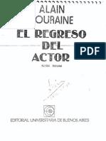 Alain Touraine_El método de la sociología de la acción