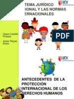 SISTEMA JURÍDICO INTERNACIONAL Y LAS NORMAS INTERNACIONALES