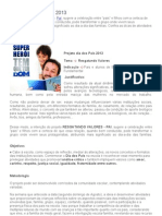 Projeto Dia Dos Pais 2013