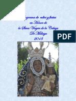 Actos Malaga 2013