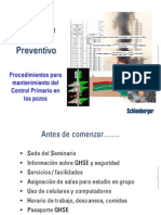 Curso Sobre Control de Pozos Preventivo - Pemex