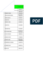 Csc Adderee List 05.09.2013